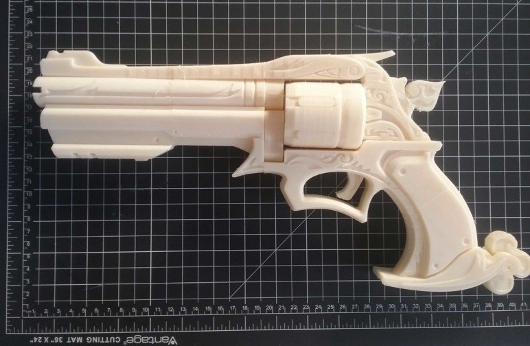 Image of Overwatch 3D Models: Peacekeeper Revolver