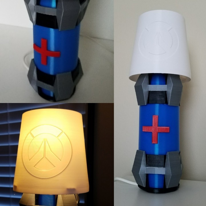 Image of Overwatch 3D Models: Overwatch Health Pack Lamp