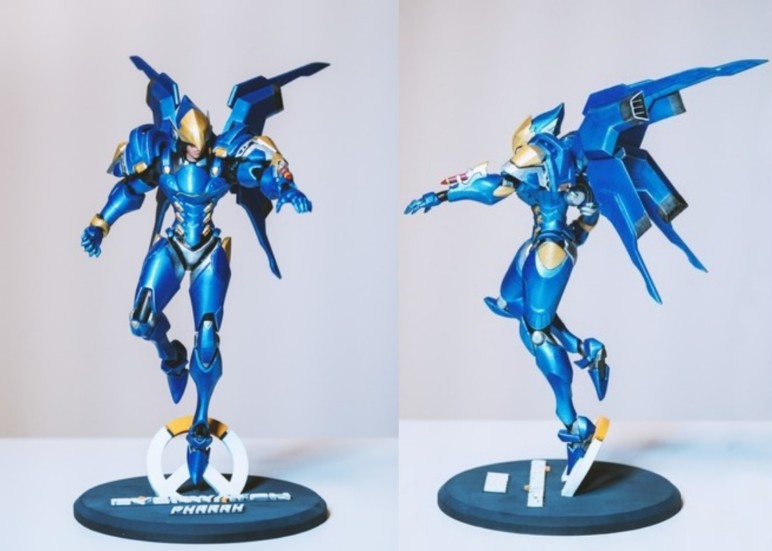 Image of Overwatch 3D Models: Pharah Figure