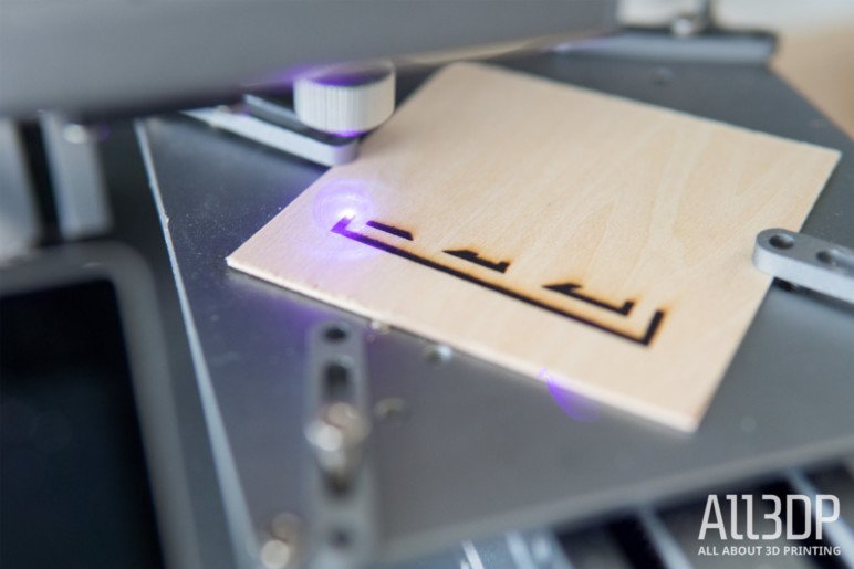 Image of Snapmaker 3-in-1 3D Printer Review: Laser Engraving