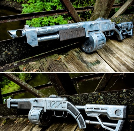 Image of Fallout Props & Toys to 3D Print: Combat Shotgun