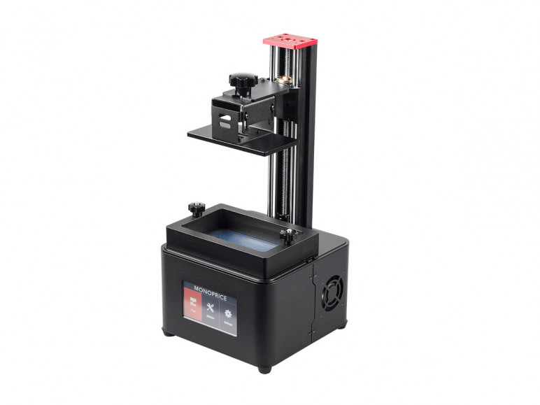 Image of Resin (LCD/DLP/SLA) 3D Printer: Monoprice MP Mini Deluxe SLA