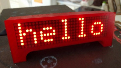 Featured image of Weekend Project: Get Your Message Across with this 3D Printed LED Marquee Scroller