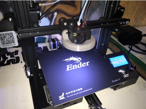 Image of Creality Ender 3 Upgrades and Mods: LEDs/LED Strip