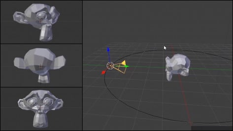 Featured image of Blender – How to Move the Camera