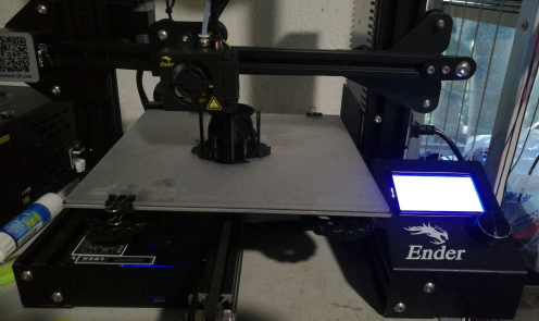 Image of Creality Ender 3 Upgrades and Mods: Glass Print Bed