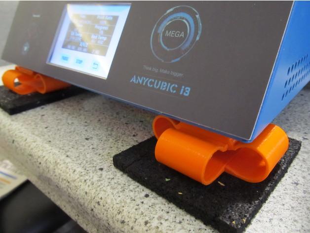 Image of Anycubic i3 Mega Upgrade / Mod: Vibration Dampers