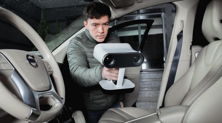 Image of 3D Scanner: Artec Leo