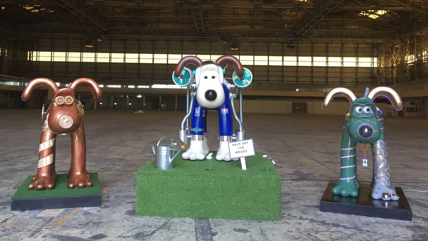 "3D Printed ""Gromit Unleashed 2"" Sculptures Raise Money for Children's Hospital Charity 