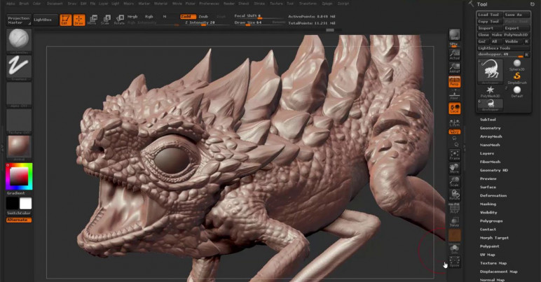 3d sculpting software