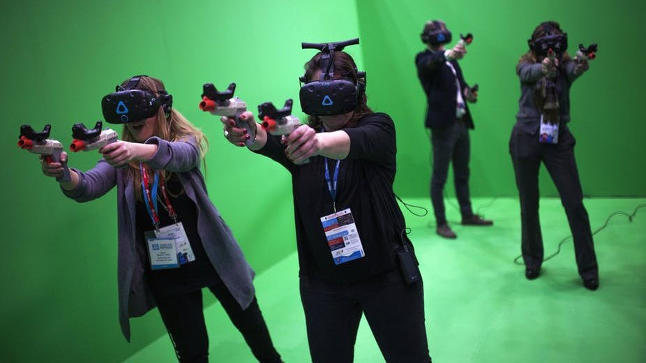 Dave & Buster's to Introduce HTC Vive Headsets to 114 Arcade Locations in North America | All3DP