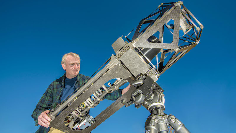 Researchers Use Imprecise 3D Printing to Build Telescope | All3DP