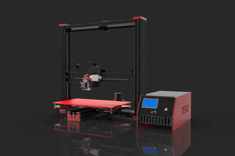Image of Best Prusa i3 Clone Alternatives: The Largest: Tevo Black Widow