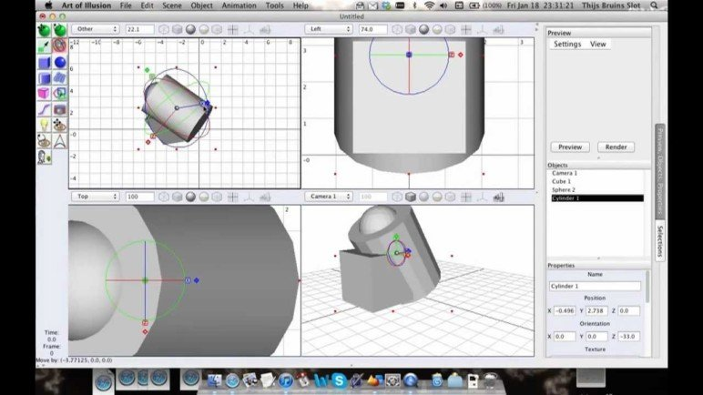 Image of Best Free CAD Software (2D/3D CAD Programs): Art of Illusion