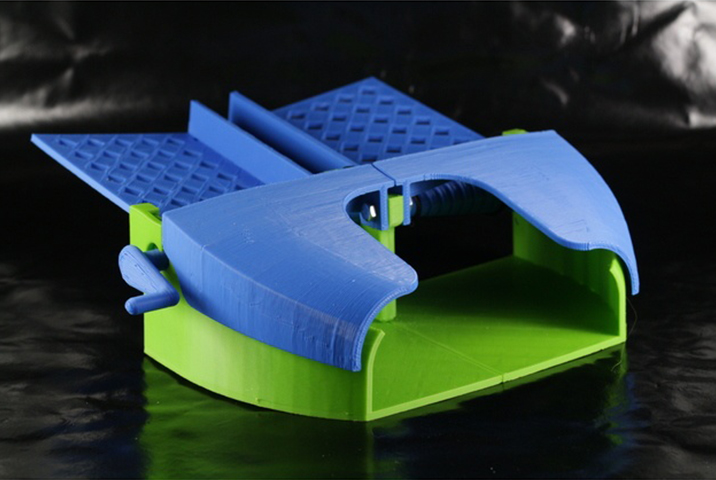 Image of Cosas para imprimir en 3D: modelos y objetos 3D útiles: Barajador de cartas