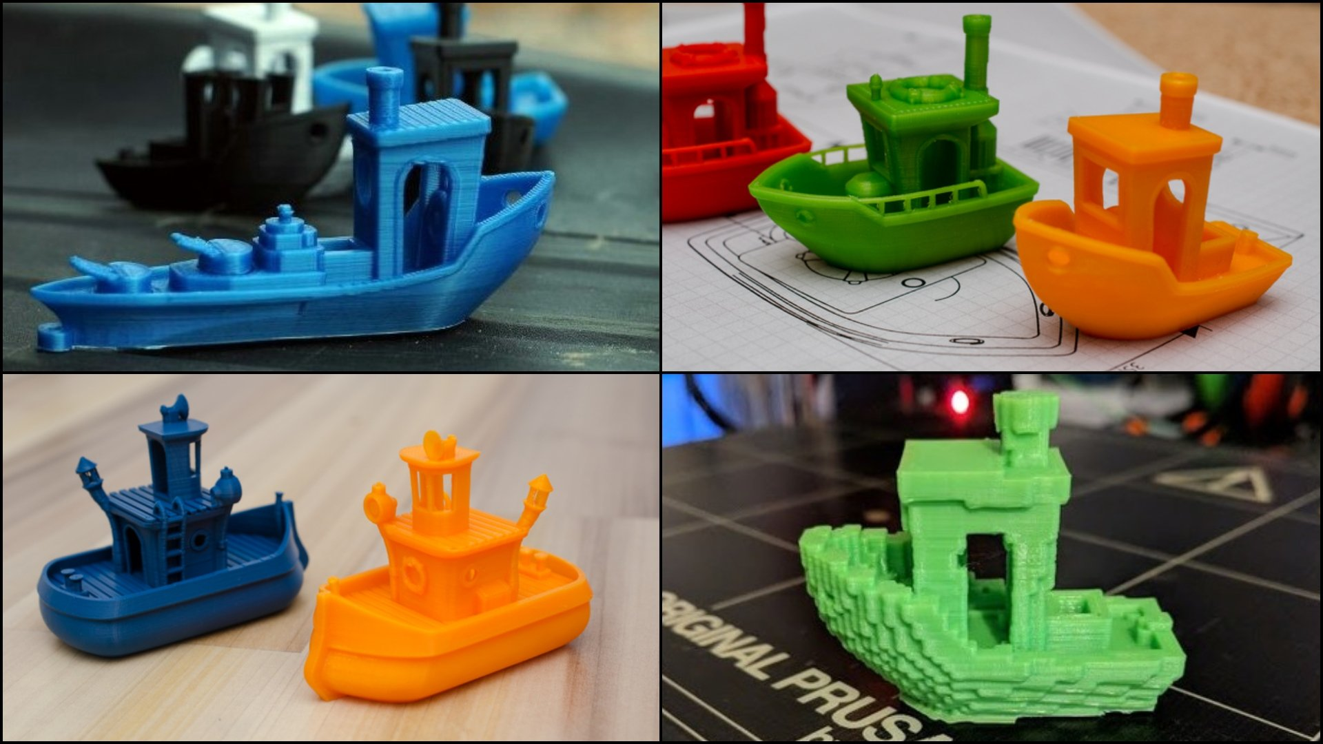 10 Cool 3DBenchy Variations - 3D Print Your Own Fleet! | All3DP