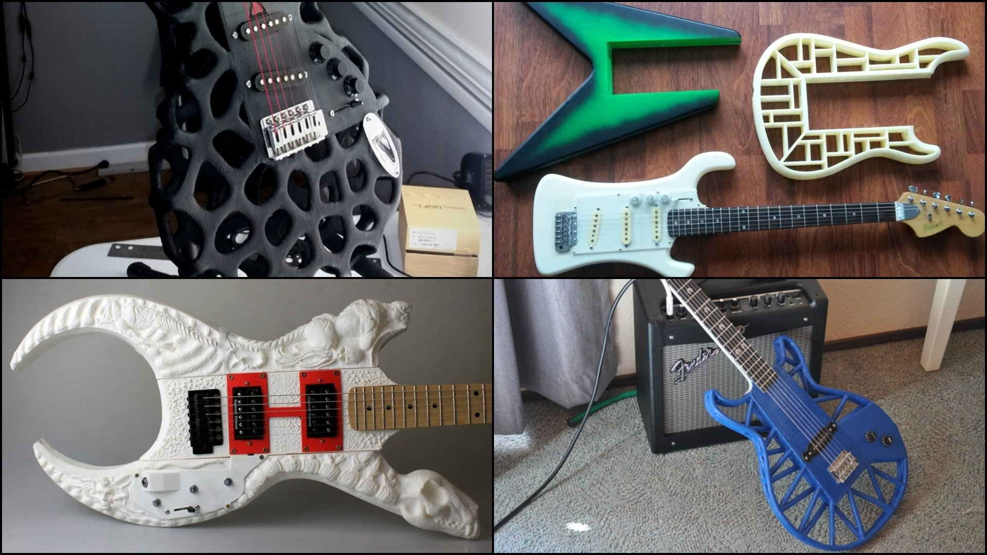3D Printed Guitar - 10 Best Curated Models to 3D Print | All3DP