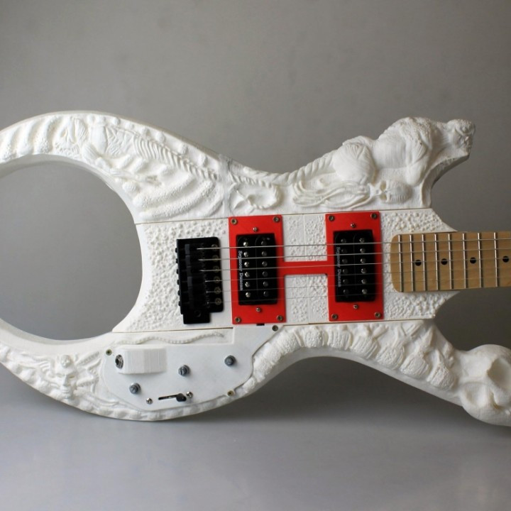 The Lovecraft Concept Guitar