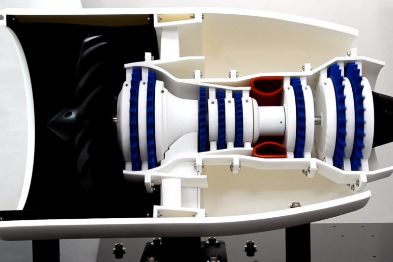3D Printed Jet Engines - The 4 Most Advanced (with Videos