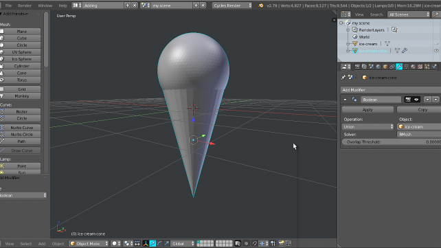 Featured image of Blender: How to Merge Objects – Simply Explained