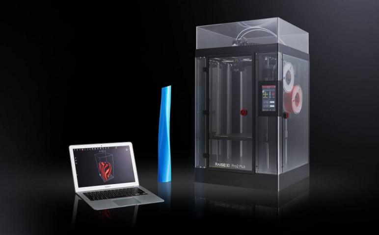 Image of Large 3D Printer (Large-Format / Large-Scale / Large-Volume): Raise3D Pro2 Plus