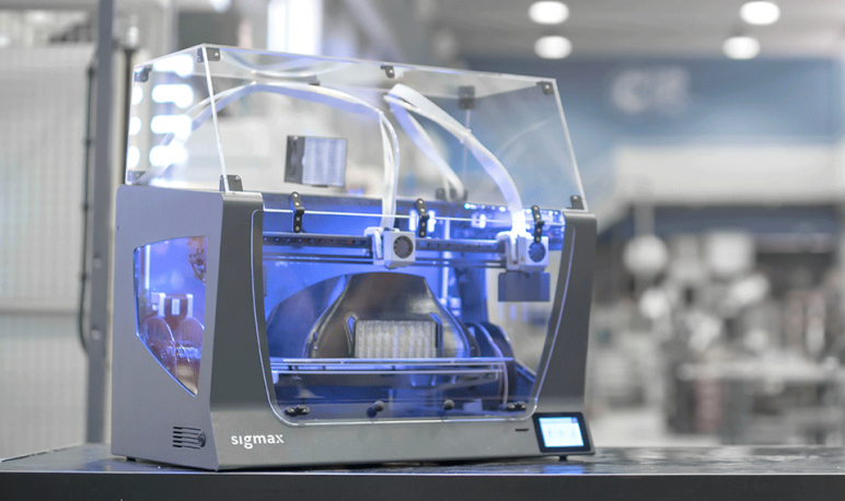 Image of Large 3D Printer (Large-Format / Large-Scale / Large-Volume): BCN3D Sigmax R19