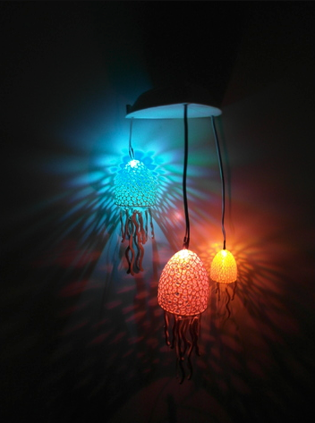 Project] 3D Print These Seaworthy Voronoi Jellyfish Lights
