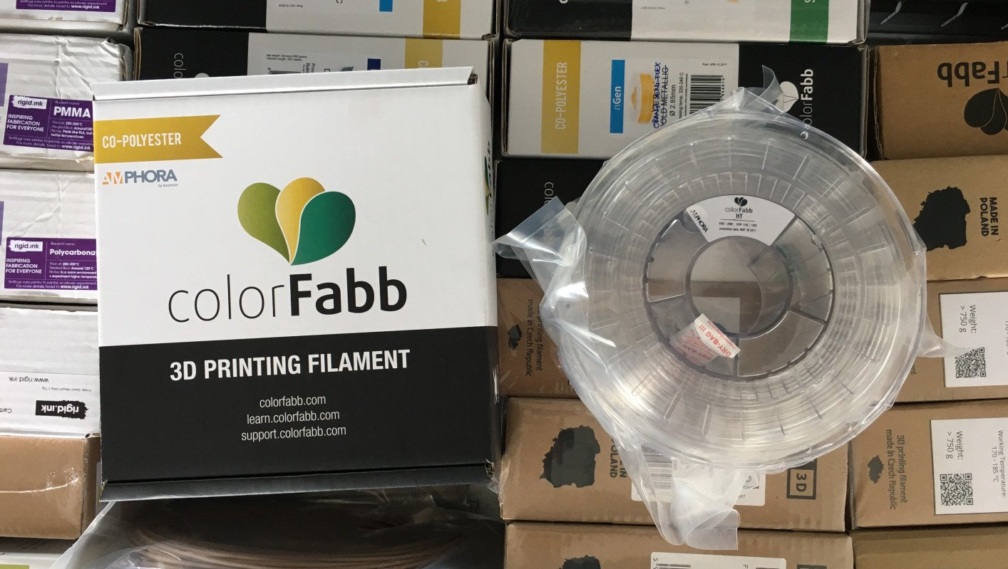 ColorFabb HT (Clear) Filament Review - Strong & Heat Resistant | All3DP