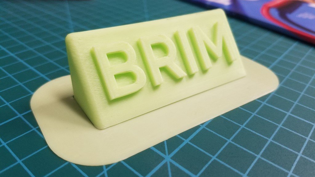 3D Printing Brim - When Should You Use It | All3DP