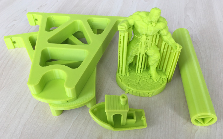 Image of Polymaker PolyLite PLA (Lulzbot Green) Review: The Verdict