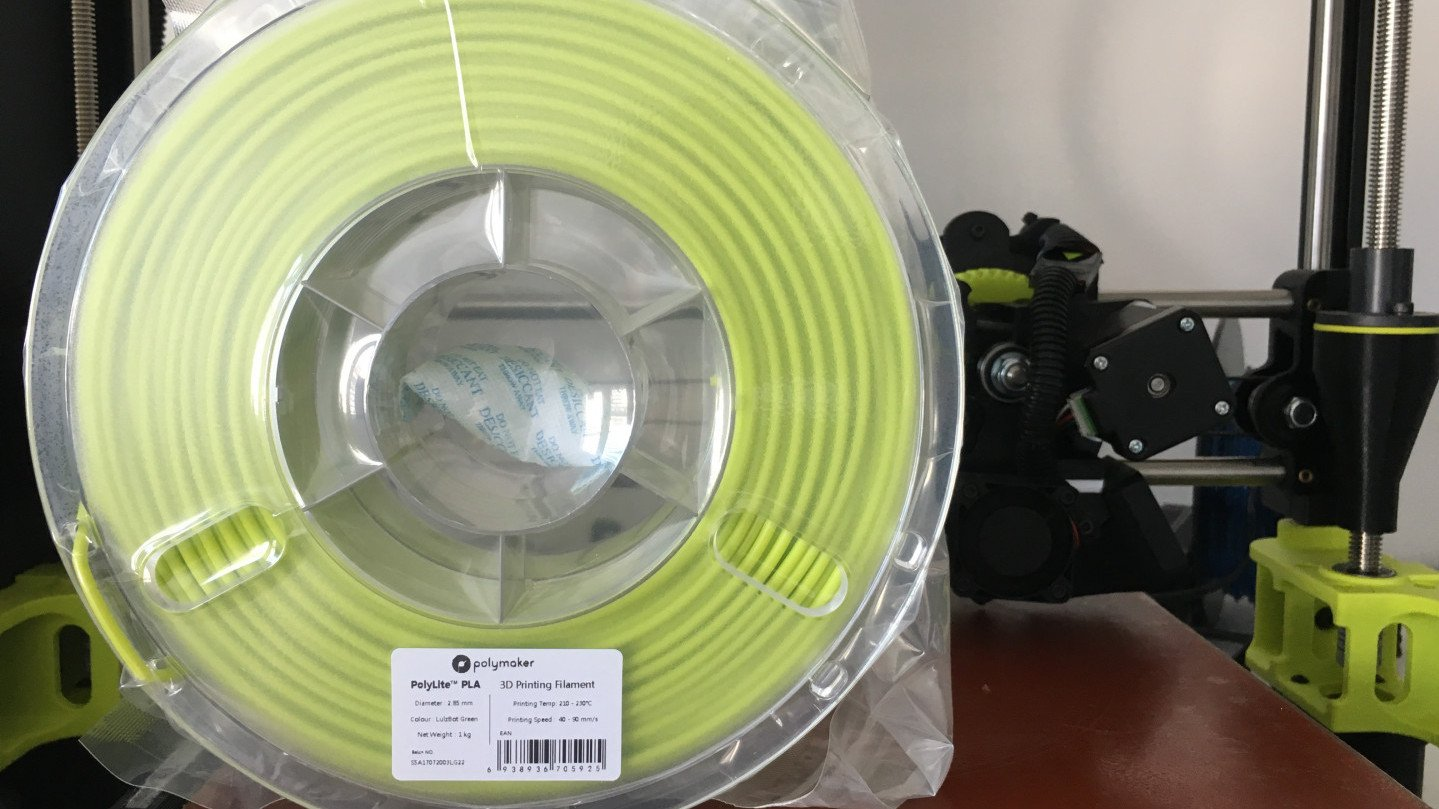 Polymaker PolyLite PLA (Lulzbot Green) Filament Review | All3DP