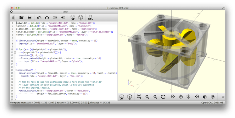 Image of 3D-Drucker-Software kostenlos: OpenSCAD