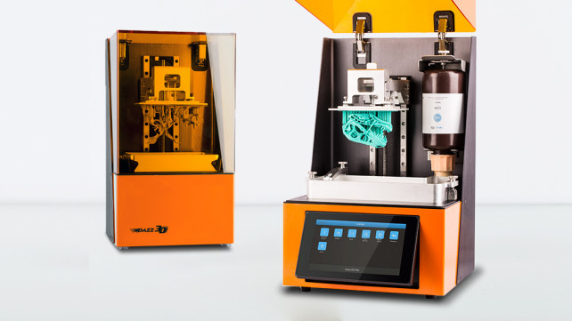 Featured image of Dazz 3D LCD 3D Printer Kickstarter Campaign Smashes Funding Goal