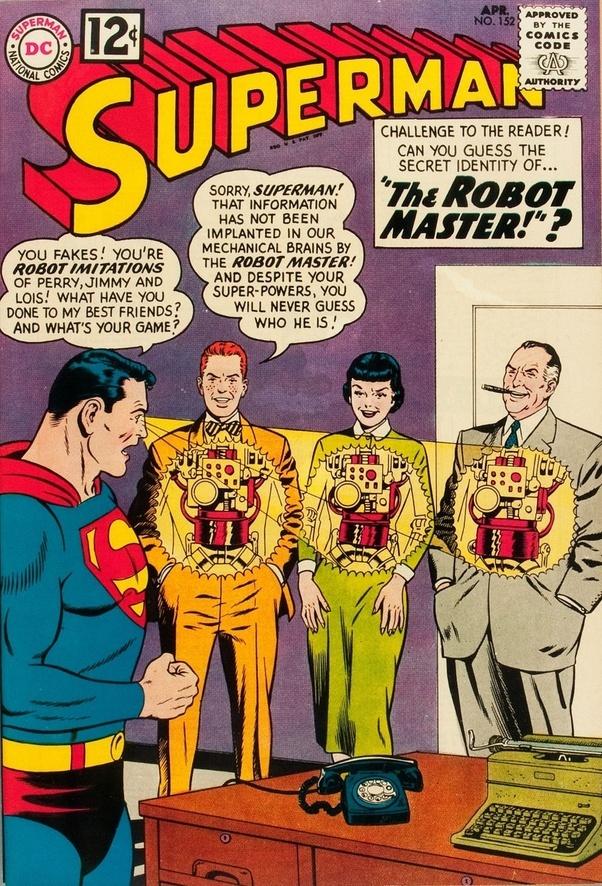 Superman X-ray scanning.