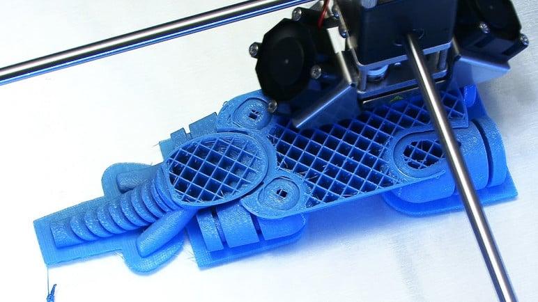 Print slowly to reduce ringing.