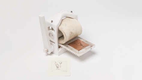 Featured image of The World's First 3D Printed Printmaking Press Is Now Free to Download