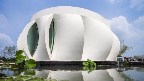 Image de Bâtiment / Structure / Maison imprimée en 3D: Lotus House