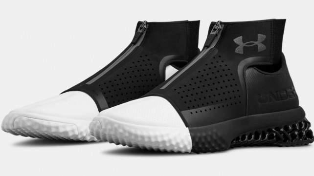 Featured image of Under Armour Releases 3D Printed Sneakers to Celebrate Hall of Fame Induction of Ray Lewis