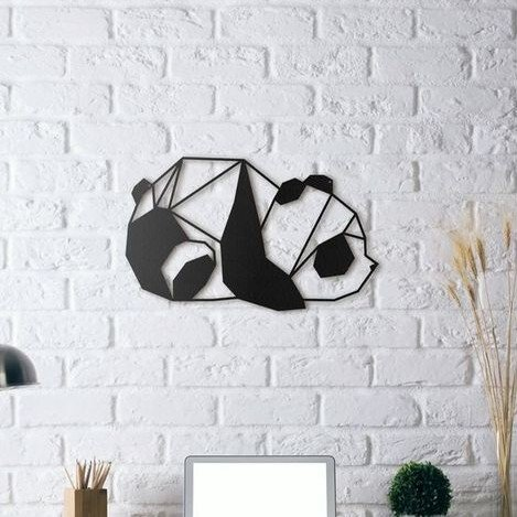 Image of Cool Things to 3D Print: Panda Wall Sculpture
