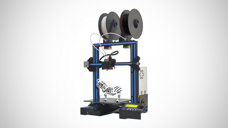 Image of Dual Extruder 3D Printer: Geeetech A10M