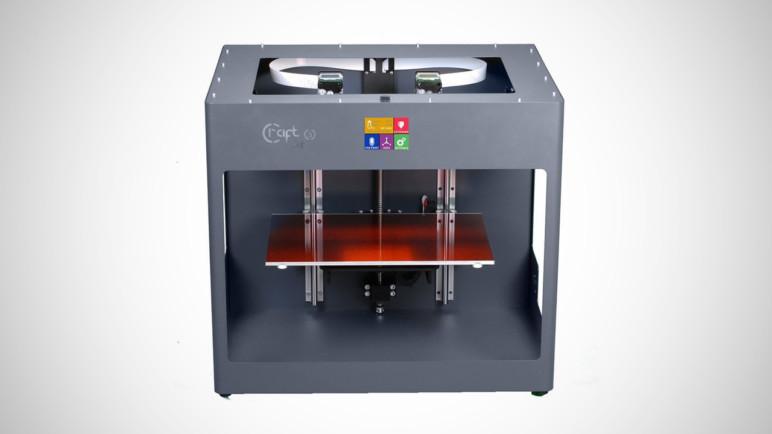 Image of Dual Extruder 3D Printer: CraftBot 3