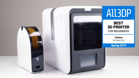 Featured image of UP mini 2 Review – Best 3D Printer for Beginners in 2018