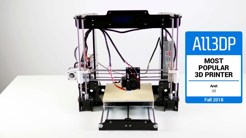 Test Anet A8 : l'imprimante 3D la plus populaire à l'automne 2018 | All3DP