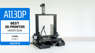 Featured image of 2018 Creality Ender 3 Review – Best 3D Printer Under $200