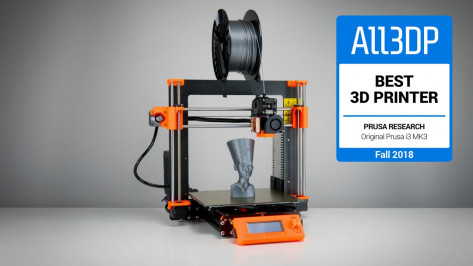 Featured image of Original Prusa i3 MK3 : la meilleure imprimante 3D [Test 2018]