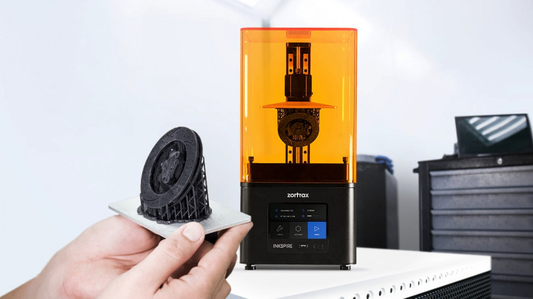 Image of Die 25 besten Resin-(LCD/DLP/SLA)-3D-Drucker im Winter 2018/19: Zortrax Inkspire
