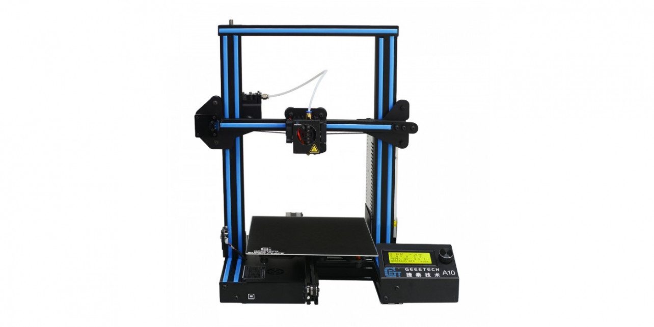 Featured image of 2018 Geeetech A10 – Review the Specs of this 3D Printer