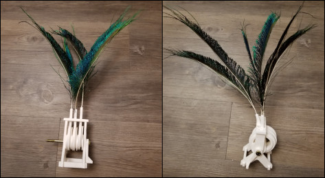 Featured image of Weekend Project: All3DP Takes on a 3D Printed Feather Automaton Mechanism