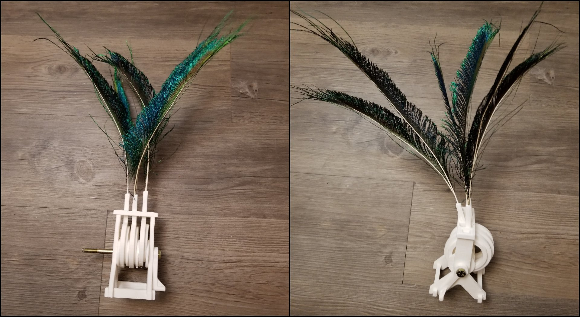 [Project] All3DP Takes on a 3D Printed Feather Automaton Mechanism | All3DP