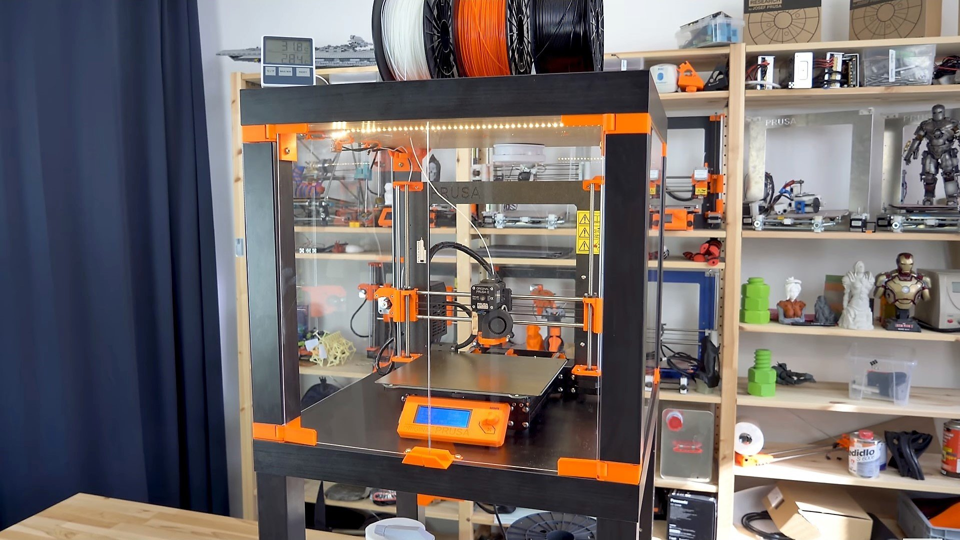 DIY 3D Printer Enclosure: 6 Cheap & Easy Solutions | All3DP